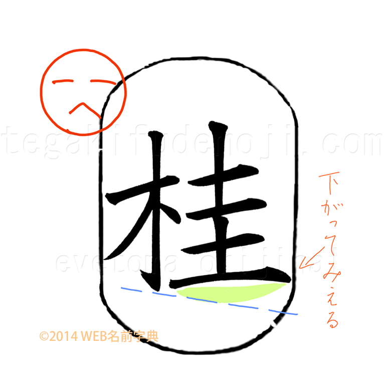 3つのポイント「桂」2